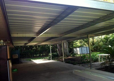17 x 35 Steel Patio Cover
