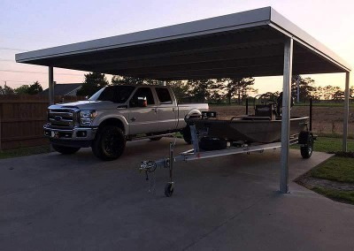 24 x 21 Double Steel Carport