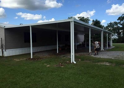 26 x 60 Carport Patio Combo