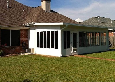 Nice Addition - Insulated Sunroom