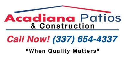 Acadiana Patios & Construction Logo
