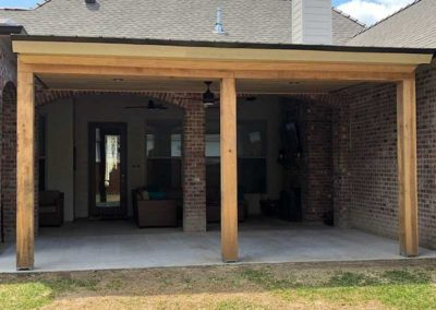 New Cypress Patio Cover