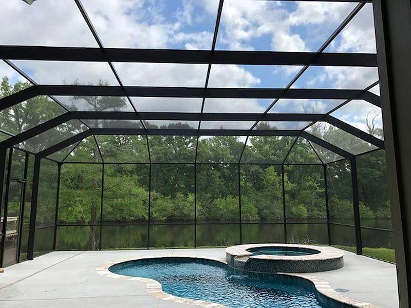 Swimming Pool Enclosures • Acadiana Patios • Elite Dealer Since 1985