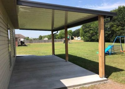 A New Patio Cover